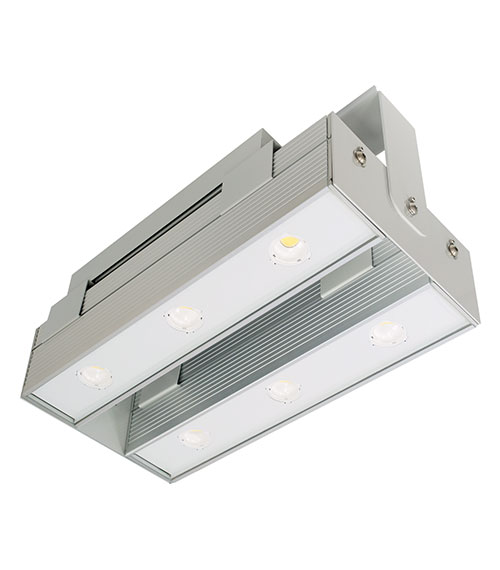 LED Hallenstrahler LUMINA TWIN mit Heat Pipe Technologie