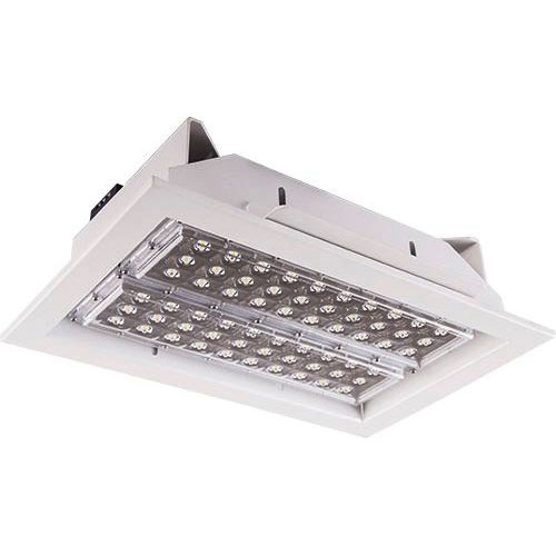 LED Halleneinbaustrahler Power Square Deep 60W