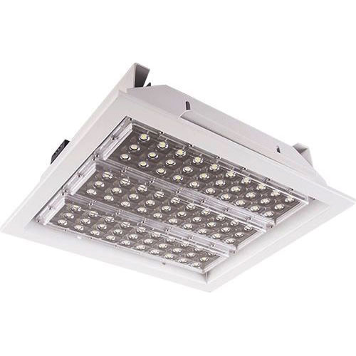 LED Halleneinbaustrahler Power Square Deep 90W