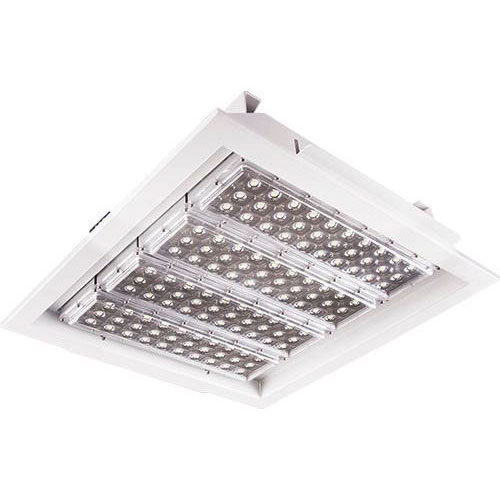 LED Halleneinbaustrahler Power Square Deep 120W